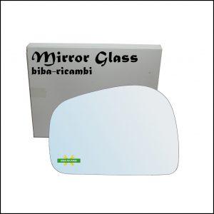 Vetro Specchio Retrovisore Cromato Lato Sx-Guidatore Per Tata Safari (42_FD) dal 1998>