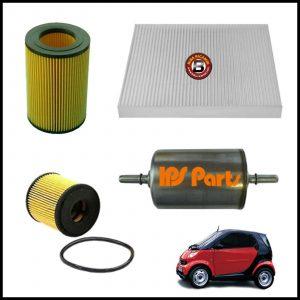Kit Tagliando Filtri Per Smart (450) 0.700 37kw/50cv dal 2003>