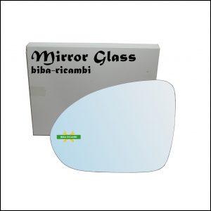 Vetro Specchio Retrovisore Cromato Lato Sx-Guidatore Per Smart ForFour I (454) dal 2004-2006