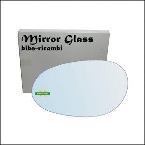 Vetro Specchio Retrovisore Cromato Lato Sx-Guidatore Per Smart ForTwo I (450) dal 2004-2007