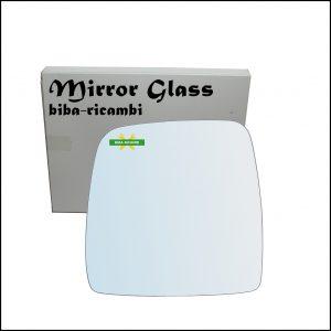 Vetro Specchio Cromato Lato Sx-Guidatore Per Suzuki Jimny I (SN) dal 1998-2006