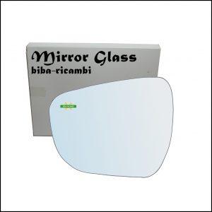 Vetro Specchio Retrovisore Lato Sx-Guidatore Per Suzuki Celerio (LF) dal 2014>