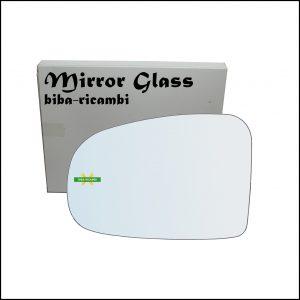 Vetro Specchio Retrovisore Lato Sx-Guidatore Per Subaru Trezia dal 2010>