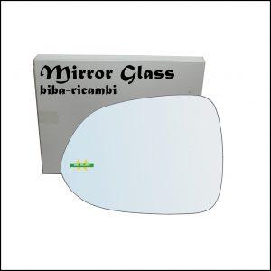 Vetro Specchio Retrovisore Lato Sx-Guidatore Per Honda Jazz II (GD) solo dal 2001-2004