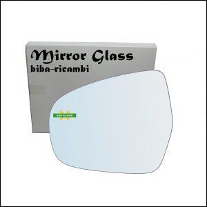 Vetro Specchio Retrovisore Lato Sx-Guidatore Per Suzuki SX4 S-Cross (JY) dal 2013>