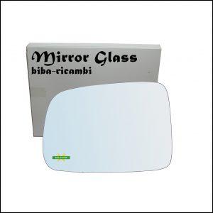 Vetro Specchio Retrovisore Cromato Lato Sx-Guidatore Per Honda CR-V I (RD) dal 1995-2002