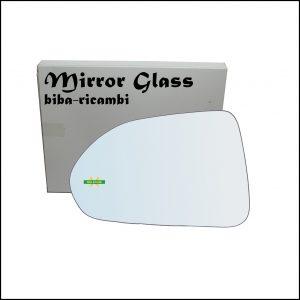 Vetro Specchio Retrovisore Lato Sx-Guidatore Per Honda Jazz II (GD) solo dal 2004-2005