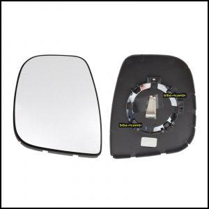 Piastra Specchio Retrovisore Lato Sx-Guidatore Per Citroen BERLINGO II (B9) dal 2013-2018