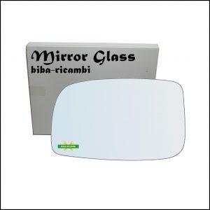 Vetro Specchio Retrovisore Lato Sx-Guidatore Per Subaru Justy IV dal 2007-2010