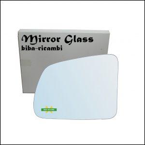 Vetro Specchio Retrovisore Cromato Lato Sx-Guidatore Per Suzuki Vitara I (TA) solo dal 1988-1993