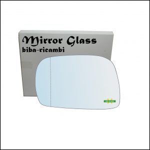 Vetro Specchio Retrovisore Asferico Lato Sx-Guidatore Per Suzuki Ignis I (FH) dal 2000-2005