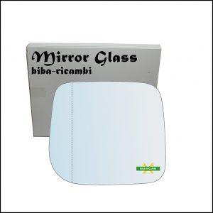 Vetro Specchio Asferico Lato Sx-Guidatore Per Hyundai Galloper II (JK) dal 1997-2003