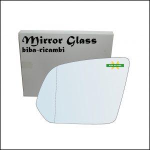 Vetro Specchio Asferico Retrovisore Lato Sx-Guidatore Per Mercedes Classe V | Vito (W447) dal 2014>