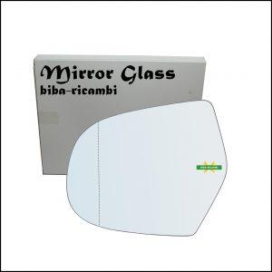 Vetro Specchio Retrovisore Asferico Lato Sx-Guidatore Per Great Wall Hover dal 2005-2011