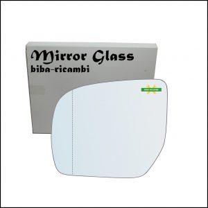 Vetro Specchio Retrovisore Asferico Lato Sx-Guidatore Per Subaru Impreza (GR, GH, G3) dal 2008-2011