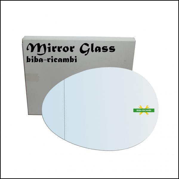 Vetro Specchio Retrovisore Asferico Lato Sx-Guidatore Per Mini Cooper (F55) dal 2013>