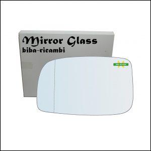 Vetro Specchio Retrovisore Asferico Lato Sx-Guidatore Per Subaru Justy IV dal 2007-2010