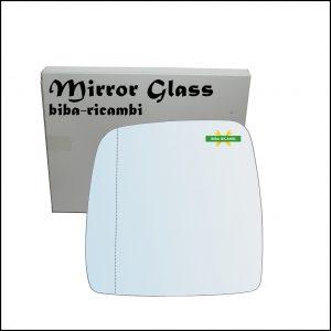 Vetro Specchio Cromato Asferico Lato Sx-Guidatore Per Suzuki Jimny I (SN) dal 1998-2006