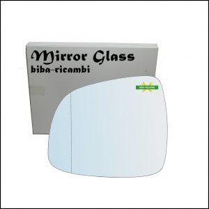 Vetro Specchio Retrovisore Asferico Lato Sx-Guidatore Per Suzuki SX4 (GY, RW) dal 2006>