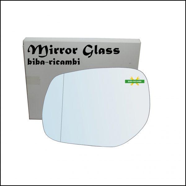 Vetro Specchio Retrovisore Asferico Lato Sx-Guidatore Per Infiniti QX30 dal 2016>