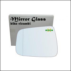 Vetro Specchio Retrovisore Asferico Lato Sx-Guidatore Per Honda Jazz II (GD) solo dal 2006-2008