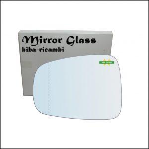 Vetro Specchio Retrovisore Asferico Lato Sx-Guidatore Per Lancia Phedra Restyling solo dal 2008>