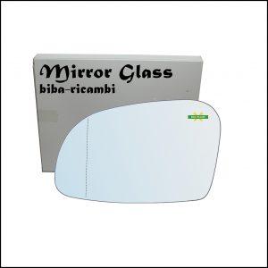 Vetro Specchio Retrovisore Asferico Lato Sx-Guidatore Per Citroen Saxo (S0) dal 1996-2004