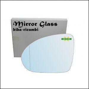 Vetro Specchio Retrovisore Asferico Lato Sx-Guidatore Per Smart ForFour I (454) dal 2004-2006