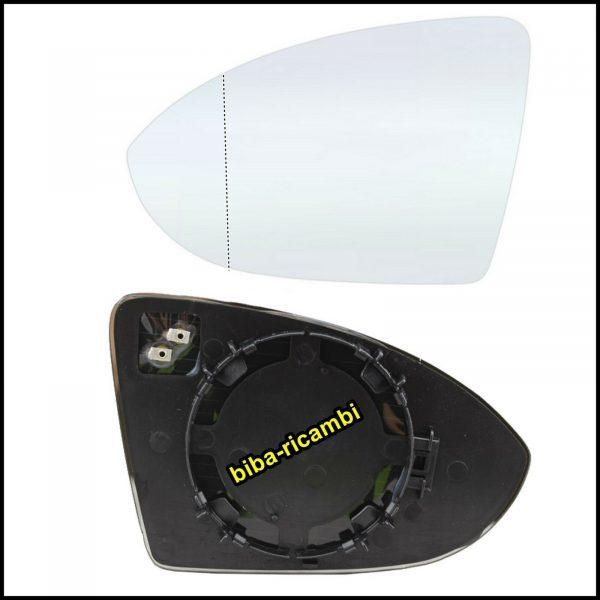 Piastra Specchio Completa Di Vetro Termico Asferico Lato Sx-Guidatore Per VW ARTEON (3H7) dal 2017>