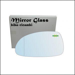 Vetro Specchio Retrovisore Asferico Lato Sx-Guidatore Per Chevrolet Nubira dal 2005-2009