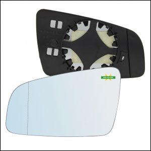 Piastra Retrovisore Asferica Lato Sx-Guidatore Per Opel Zafira B solo dal 2005-2008