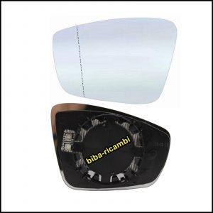 Piastra Specchio Retrovisore Asferico Termico Lato Sx-Guidatore Per Seat Mii (KF1) dal 2011>