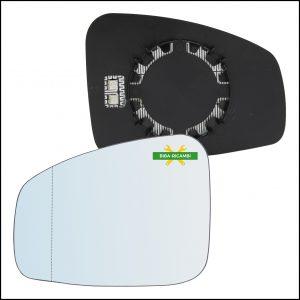 Piastra Retrovisore Asferica Termica Lato Sx-Guidatore Per Renault Fluence (L3) solo dal 2010-2012