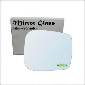 Vetro Specchio Retrovisore Cromato Lato Dx-Passeggero Per Tata Xenon dal 2006>
