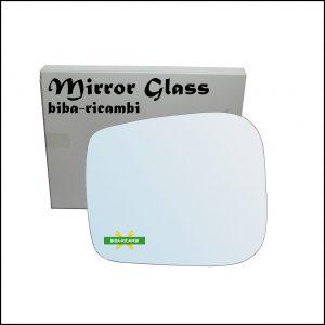 Vetro Specchio Retrovisore Cromato Lato Sx-Guidatore Per Tata Xenon dal 2006>