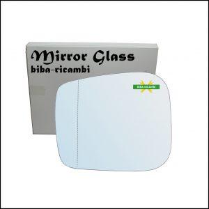 Vetro Specchio Retrovisore Asferico Lato Sx-Guidatore Per Tata Xenon dal 2006>