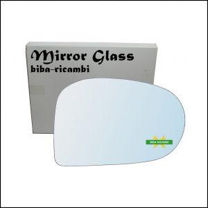 Vetro Specchio Retrovisore Cromato Lato Dx-Passeggero Per Subaru Vivio dal 1992-2000