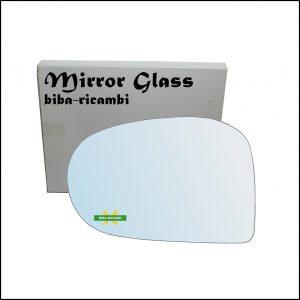Vetro Specchio Retrovisore Cromato Lato Sx-Guidatore Per Subaru Vivio dal 1992-2000