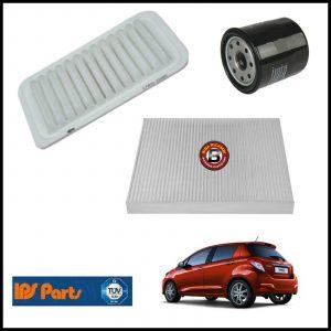 Kit Tagliando Filtri Per Toyota Yaris 1.300 73kw/99cv dal 2011>