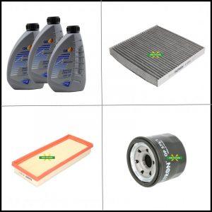 Kit Tagliando Olio | Filtri Per Smart Fortwo II (451) 1.000 52kw/71cv dal 2007>