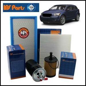 Kit Tagliando Filtri Per Dodge Caliber 2.000 CRD 103kw/140cv dal 2006>