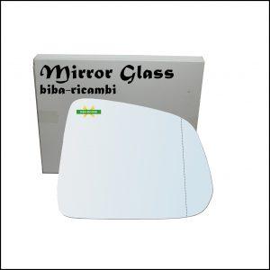 Vetro Specchio Retrovisore Asferico Lato Dx-Passeggero Per Chevrolet Captiva (C100) dal 2006>