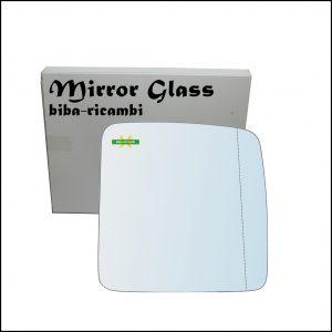 Vetro Specchio Retrovisore Asferico Lato Dx-Passeggero Per Suzuki Jimny I (SN) solo dal 2007>