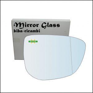 Vetro Specchio Retrovisore Asferico Lato Dx-Passeggero Per Citroen C-Elysee dal 2012>