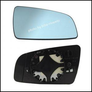 Piastra Specchio Retrovisore Termico Lato Dx-Passeggero Per Opel Zafira (B) solo dal 2005-2008