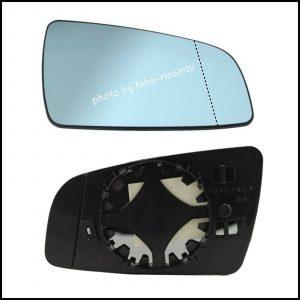 Piastra Specchio Retrovisore Termico Asferico Lato Dx-Passeggero Per Opel Zafira (B) solo dal 2005-2008