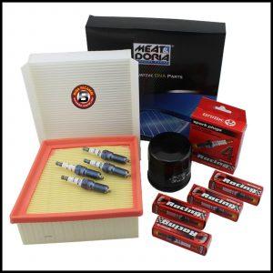 Kit Tagliando Filtri | Candele Per Ford Fiesta VI 1.400 LPG 71kw/97cv dal 2009>