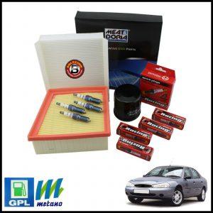 Kit Tagliando Filtri | Candele Per Ford Mondeo I 1.800 GPL 85kw/115cv dal 1996>