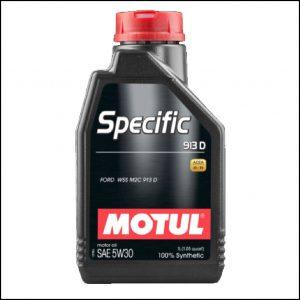 Olio Motore Motul 5w30 Full Sintetico Specifico Ford ACEA A5 B5 Ford WSS M2C 913D