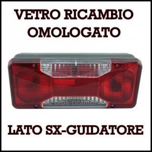VETRO RICAMBIO SX FANALI IVECO / CITREON JUMPER PEUGEOT BOXER 2006